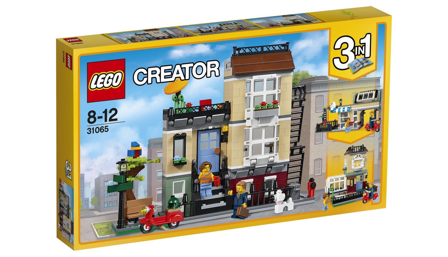 lego creator 31065 stadthaus an der parkstra e. Black Bedroom Furniture Sets. Home Design Ideas